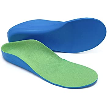 Beautulip Kids Orthotic Insoles - Children Flat Feet and Arch Support Inserts (16cm Toddler 9-11)