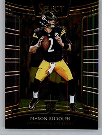 best deals on 284d5 0d061 Amazon.com: 2018 Select Football #12 Mason Rudolph ...