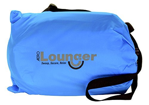 AeroLounger Inflatable Lounger Lounger Blue Blue [並行輸入品] Inflatable B07FDX8V7Z, こだわり雑貨の店 銀の船:13957ca1 --- imagenesgraciosas.xyz