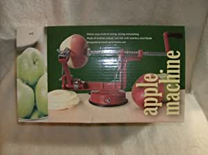Slicing and Peeling Apple Machine