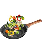 Nonstick Stir Fry Pans Skillets Die-Casting Aluminum Cooking Pan Dishwasher Safe Woks