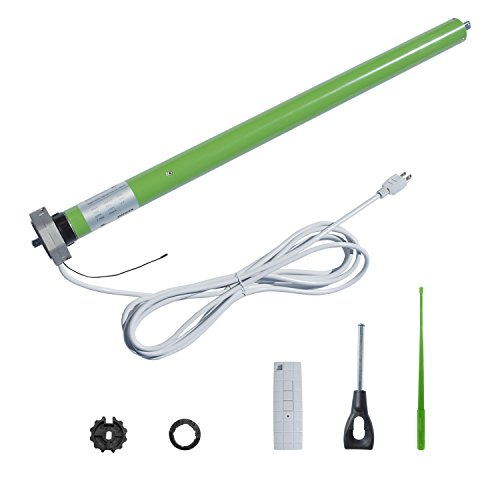 aleko dm45r tubular motor for retractable patio awning