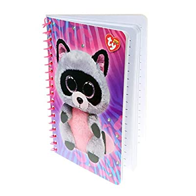 KidPlay Products Beanie Boos Stationary Set with Pen - Rocco Raccoon: Toys & Games