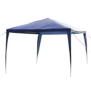 Tangkula 10u0027x10u0027 Outdoor Canopy Tent Party BBQ Tent Blue  sc 1 st  Amazon.com & Amazon.com : Tangkula 10u0027x10u0027 Outdoor Canopy Tent Party BBQ Tent ...