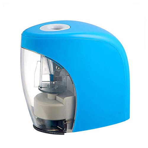 Electric Pencil Sharpener, Kids Friendly and Safety Design Pencil Sharpener for NO.2 Pencils, Auto Feature for Classroom, Home and Office, USB Cable Included