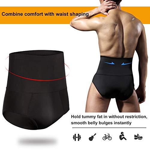 c6c3f8d804441 TAILONG Men Tummy Shaper Briefs High Waist Body Slimmer Underwear Firm  Control Belly Girdle Abdomen Compression