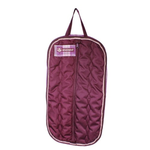 Kensington KPP Roustabout Halter/Bridle Carry Bags, Plum Ice Plaid, One (Halter Ice)
