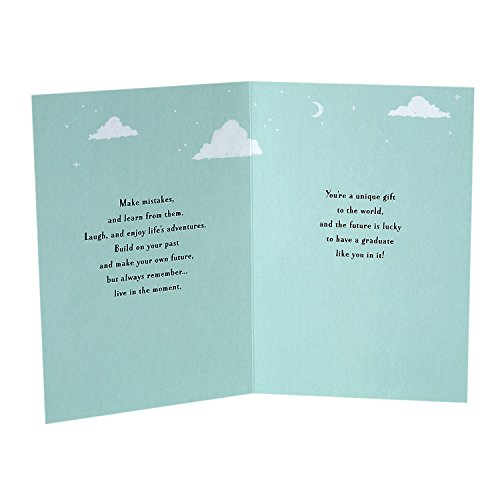 Hallmark Graduation Greeting Card (You're a Unique Gift to the World) Photo #3