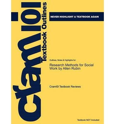 Price comparison product image Outlines & Highlights for Research Methods for Social: 9780201380279 (Paperback) - Common