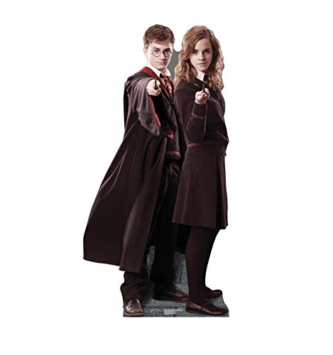 Daniel Radcliffe Halloween Costume (Advanced Graphics Harry Potter & Hermione Granger Life Size Cardboard Cutout Standup - Harry Potter and The Order of The)