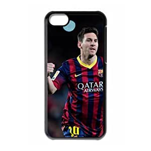 The Football Star Lionel Messi for Apple iPhone 5C Black Case Hardcore-3 by mcsharks