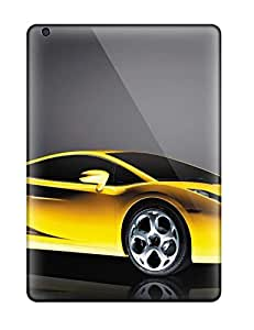 High Impact Dirt/shock Proof Case Cover For Ipad Air (lamborghini Gallardo Car)