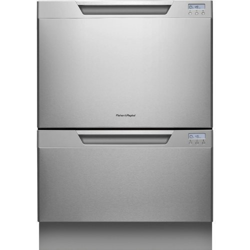 Fisher Paykel  DD24DCHTX7  Double Dishwasher, Stainless Steel Semi-Integrated,  34 X 23-Inches by Fisher & Paykel