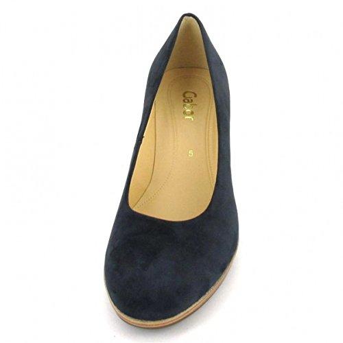 Gabor - Zapatos de vestir para mujer azul azul