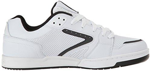 Zapatos Osiris Idem Blanco-Negro-Blanco (Eu 46 / Us 11.5 , Blanco)
