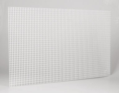 "PLASKOLITE 1199233A 1/2"" x 2' x 4' Drop-In Suspended Ceiling Lighting Panel"