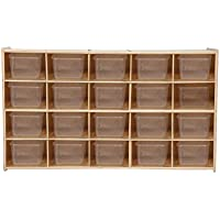 Contender C14501F 20 Tray Storage w/Translucent Trays, Assembled