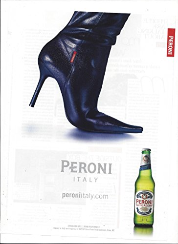 print-ad-for-2007-peroni-beer-italy-black-boot-scene