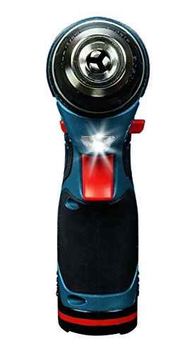 Bosch 12V 2-Speed Drill/Driver Kit and 12V Max LED Work Light w/ 2 Batteries, Charger and Case by Bosch (Image #2)