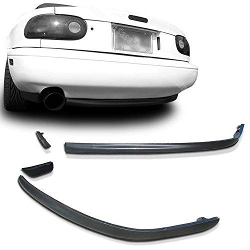 - NEW - 90-97 MAZDA MIATA MX-5 RS Style PU Rear Bumper Lip