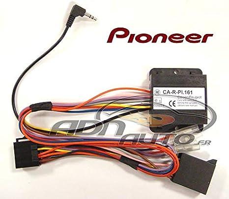 Pioneer CAN-BUS volant télécommande adaptateur citroen c2 c3 c4 Peugeot 207 307