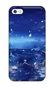 For Iphone 5/5s Fashion Design Women Blue Touhou Yakumo Yukari Umbrellas Skyscapes Reflections Games Shino Eefy Case-PyUrwcl10081DijCh
