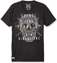 Camiseta caveira geomátrica, Colcci, Masculino