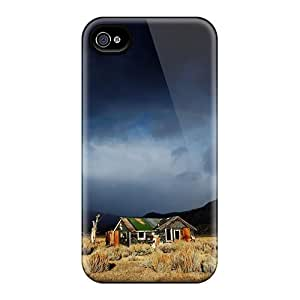 Premium [btFUmyQ7234EtCHD]rainbow Clouds Case For Iphone 4/4s- Eco-friendly Packaging
