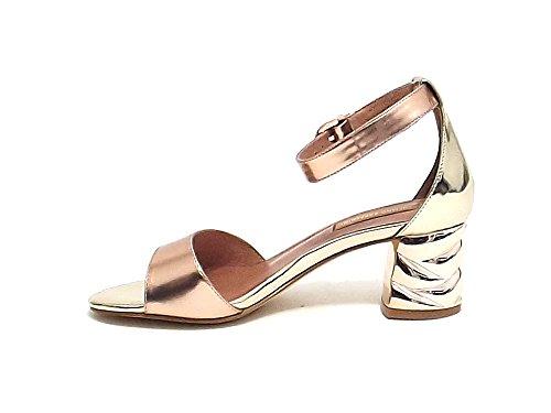 Fashion Women's Gold Sandals Barachini Gold A6xTT