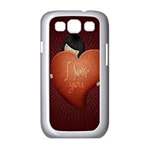 I Love You Valentines Day Samsung Galaxy S3 9300 Cell Phone Case White&Phone Accessory STC_933675