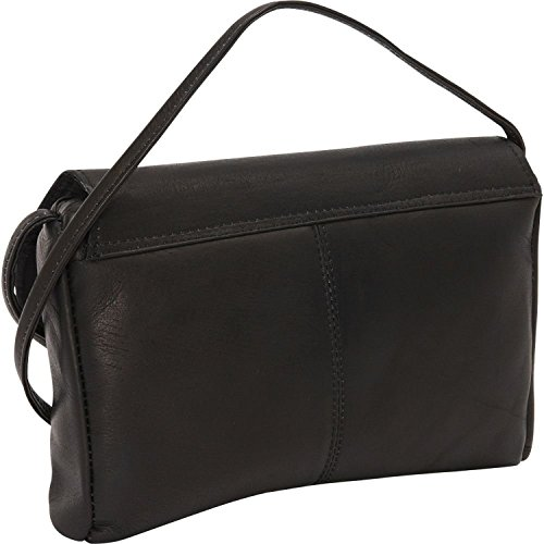 David King & Co. Front Flap Handbag 521, Café, One -