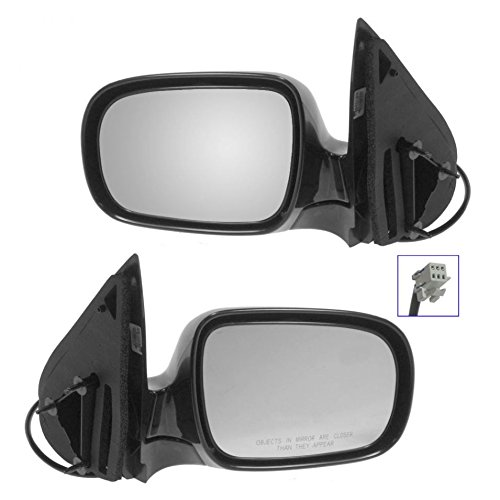 Power Folding Mirror Set - Power Side View Mirrors Folding Left/Right Pair Set for Buick Chevy Olds Pontiac