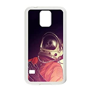Samsung Galaxy S5 Cases, Fashion Astronaut Cases For Samsung Galaxy S5 {White}