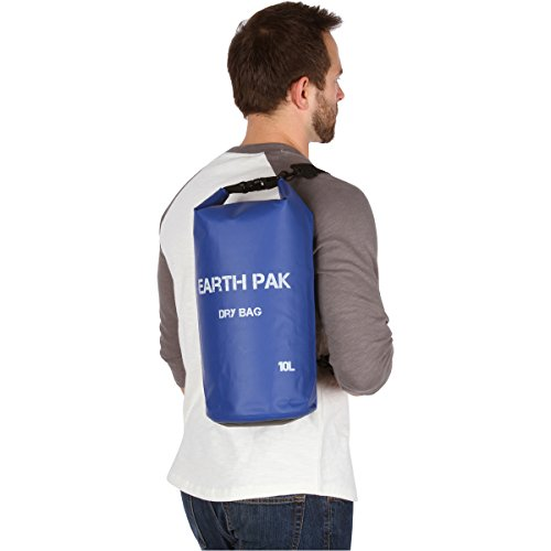 Earth-Pak-Waterproof-Dry-Bag-Roll-Top-Dry-Compression-Sack-Keeps-Gear-Dry-for-Kayaking-Beach-Rafting-Boating-Hiking-Camping-and-Fishing-with-Waterproof-Phone-Case