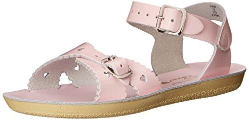 [Salt Water Sandals by Hoy Shoe Sweetheart, Pink,12 M US Little Kid] (Sweetheart Girl)