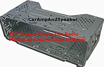 4134Yz1R3ML._SX355_ amazon com jvc car stereo mounting can cage sleeve universal trim jvc kd-r600 wiring harness at gsmx.co