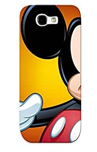 Galaxy Note 2 Case Cover Foto De Mickey Mouse Case - Eco-friendly Packaging