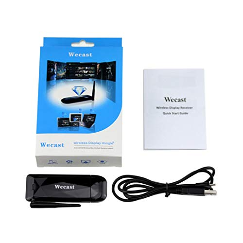 Black Wifi Display Wireless Display Receiver HDMI 1080P For Laptop TV LX Phone by Goodtrade8 Clearance (Image #2)