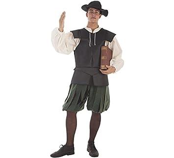 Creaciones Llopis Disfraz de Escritor Medieval para Hombre ...