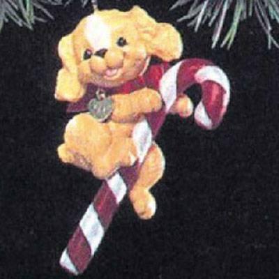 Puppy Love 1st in Series 1991 Hallmark Ornament ()