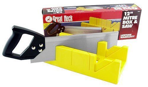 (GreatNeck BSB14 14 Inch Miter Box & Saw)