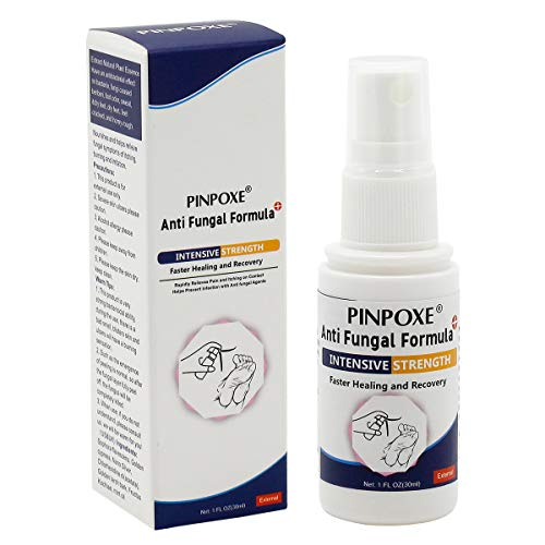 Antifungal Spray, Anti Fungal Foot spray, Natural formula ,Athletes Foot, Ringworm, Jock Itch and Fungal Infections. Effectively Soothes and Kill Fungi, Bacteria &Viruses in Minutes-Fights Against -