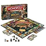 Monopoly: World Of Warcraft Collector's Edition W/ 6 Collectible Tokens - For A Legendary Adventure Toy / Game / Play / Child / Kid