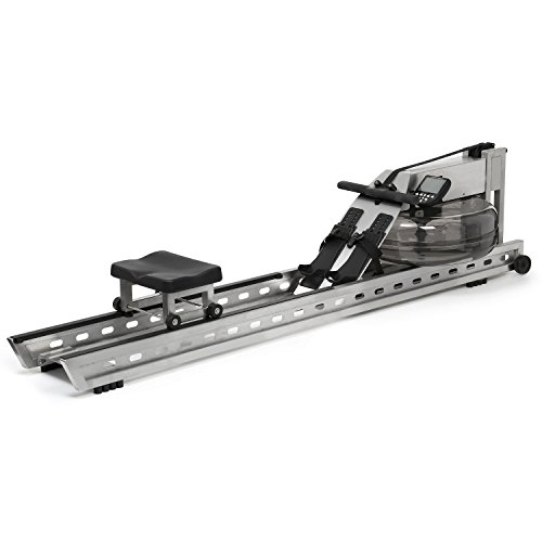 WaterRower 400-S4 Commercial S1 Rowing Machine in Stainless Steel - Water Rower - Water Rowing Ergometer