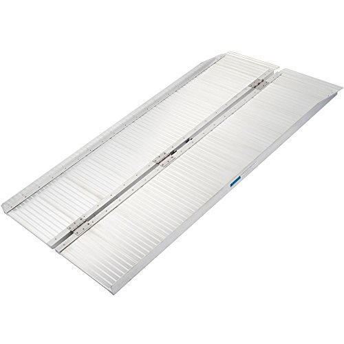 Discount Ramps Silver Spring SCG-5 Folding Mobility and Utility Ramp-600lb. Capacity, 5'Long ()