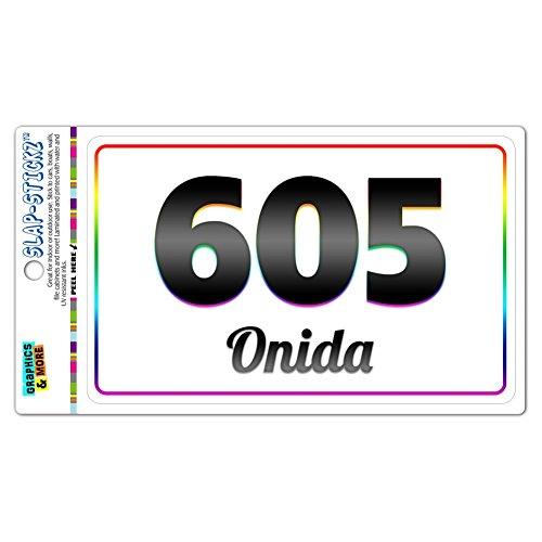 area-code-rainbow-window-laminated-sticker-605-south-dakota-sd-lemmon-orient-onida