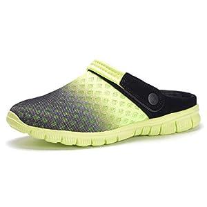 Sabots Femmes Hommes Chaussures de Jardin Mules Respirant Sandales de Plage Sport Pantoufles Piscine D'Été Chaussures…