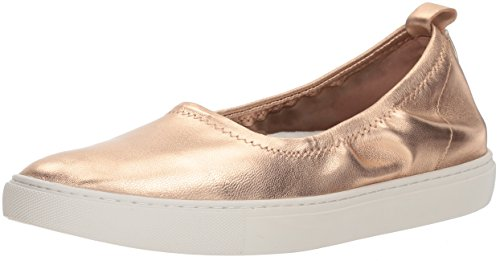 Kenneth Cole Sneaker Flat Stretch Donna New York Womens Balletto Oro Rosa