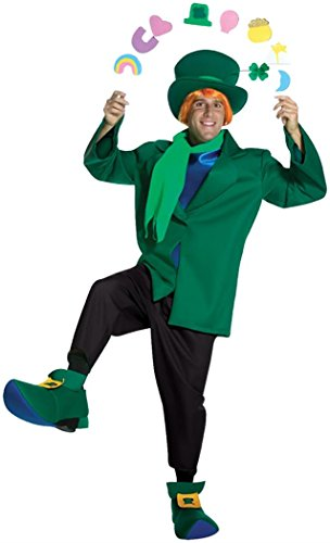 Adult Lucky Charm Costumes (Lucky Charms Adult Costume - One Size)