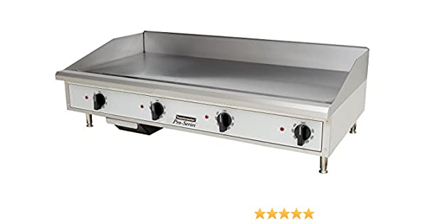 Toastmaster TMGE48 Electric Countertop Griddle 48 Wide